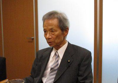 【元民主党最高顧問の江田五月氏】