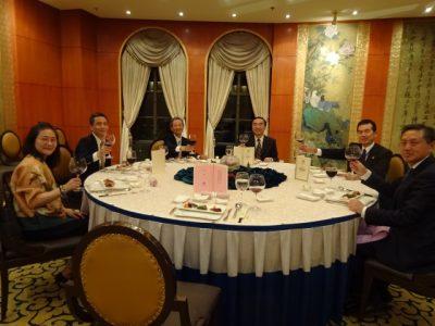 上海文化交流協会招宴 - 乾杯