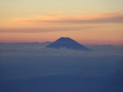 羽田へ - 富士