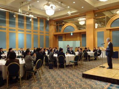 中国代表団歓迎会