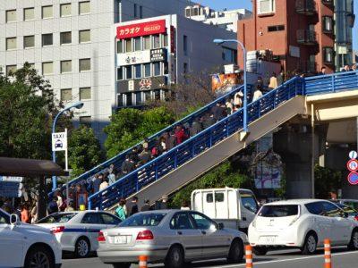 朝の飯田橋