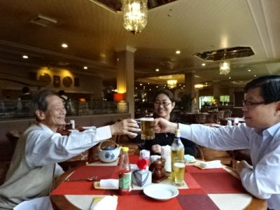 上海で昼食
