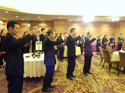 中国教育関係者歓迎会で