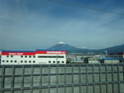 冠雪の富士