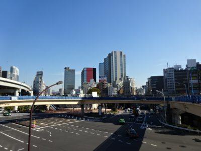 飯田橋近辺の青空
