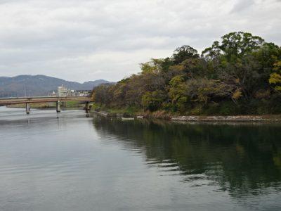 旭川と烏城