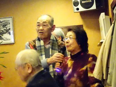 河島さんは新居浜から、最後に浜野君に会った小松原君は草津から